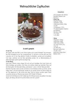 Winterlicher Zupfkuchen - Baked Cheesecake with Chocolate Cookies
