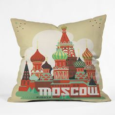 Anderson Design Group Moscow Throw Pillow | DENY Designs Home Accessories