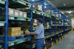 The STAK adjustable racking system is ideal for storing large parts or boxes that need to be easily accessible. http://www.stanleyvidmar.com/see-it-work/image-galleries/power-generation-storage