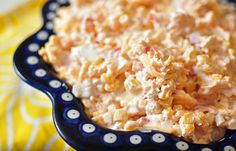 Mexicorn Dip 2 (8 oz.) cream cheese, room temperature 1 can Rotel 2 cans Mexicorn, drained well 8 oz. shredded cheddar Corn chip scoops Mix all ingredients well and refrigerate overnight. Enjoy with corn chip scoops.