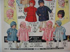 Vintage Sears & Roebuck Catalog Page 1930 by VintageAttitudes