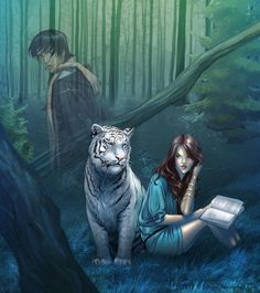 Dhiren (Ren) and Kelsey (Kells) from Tiger's Curse