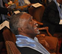 Former President of South Africa, Thabo Mbeki, at the edition of the Tana Forum