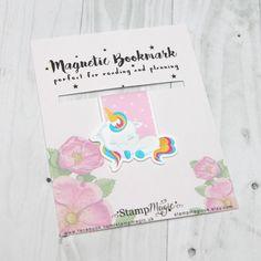 Sleeping Unicorn Magnetic Bookmark - Planner - Reading - Kawaii - Cute