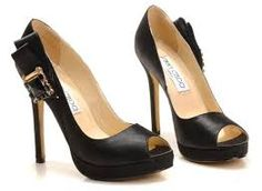 jimmy choo shoes - to add to that little black dress! #pandoravalentinescontest