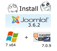 Install #Joomla 3.6.2 on Windows 7 x64 localhost ( XAMPP 7.0.9 - #php7 ) #CodingTrabla tutorials