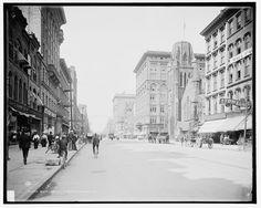 South Salina Street, around 1900. (Detroit Publishing Co. , Library of Congress) [via http://9WSYR.com]