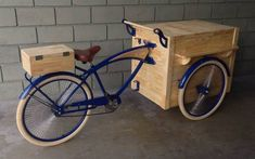 Food Bike Foodbike Foodtruck Vintage Custom Trike - R$ 7.300,00