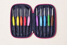 Armour Crochet Hook Gift Set with Case
