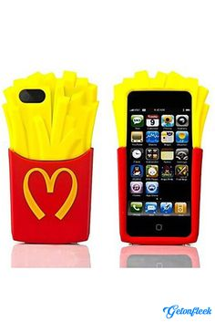 French Fries 3D iPhone Case [iPhone 5, 5s, 6, 6 Plus] - Shop our entire collection at www.getonfleek.com