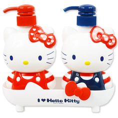 two pump bottle set