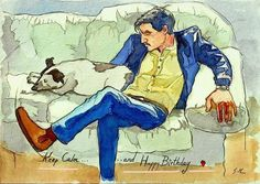 Pedro Pascal Bday card, by Germa Marquez