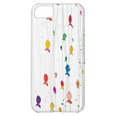 colorful fishies iPhone 5C covers