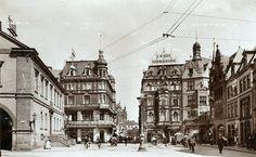 Bielefeld,  Alter Markt 1900.