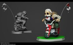 Personnal Projects :3D Print Miniature Artist