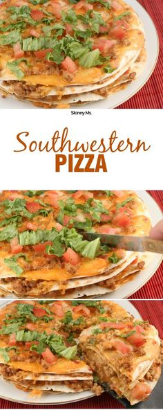 Why gobble down greasy slices of caloric nightmares when you can make your own wholesome, nutritious pizza? This zesty Southwestern Pizza recipe captures tasty south-of-the-border flavors without adding inches to your waistline. #healthyeating #pizza #cle