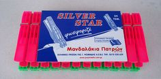 Silver Star clothes pegs