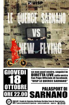 VI Giornata Campionato Uisp calcio a 5, Le Querce Sarnano - New Flying.