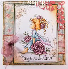 Scrap with Sandra, Copic, Paper crafting, Card