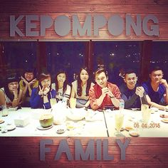 Shienly's birthday #Kepompong #family