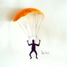 parachute peel