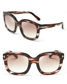 2c42409a06efc9 Tom Ford Christophe Sunglasses, 53mm Jewelry   Accessories - Sunglasses -  All Sunglasses - Bloomingdale s