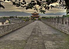 """Dali - Yunnan, China   """"Dali City wall"""" by James Wheeler, via 500px."""