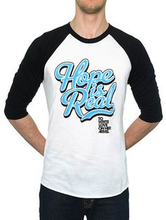 To Write Love on Her Arms Official Online Store - Hope Is Real Baseball Jersey