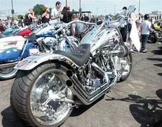 The Memphis Belle, award winning Harley   Motorcycle