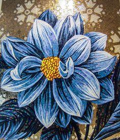 Pannello in mosaico artistico.  www.stanzedautore.it
