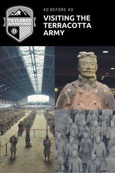 Visiting the Terracotta Army in Xi'an China is checked off the Taylored Adventures bucket list. Post provides helpful tips for checking this item off of your bucket list too! China Travel, China Trip, Great Places, Places To See, Travel Destinations, Travel Tips, Terracotta Army, Adventure Bucket List, Disney Cruise