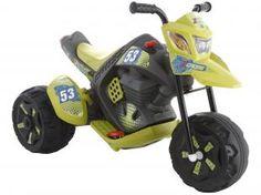 Moto Elétrica Infantil Z-Cross - Frente e Ré - Bandeirante