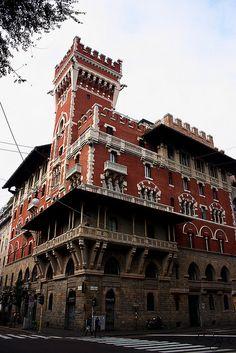 Castello Cova, Milano, province of Milan, Lombardy, Italy