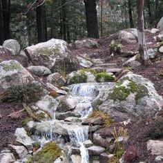 Pondless Waterfall Transforms