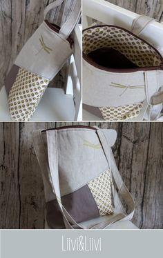 "Tasche ""Lucy"" von Liivi & Liivi: http://de.dawanda.com/product/104785139-schnittmuster-tasche-lucy-9-naehvarianten"