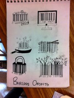 doodles&noodles   Barcode Objects