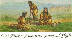 The Native American peoples lived with much less technology than even the earliest European settlers had access to. They had no firearms, no wheeled