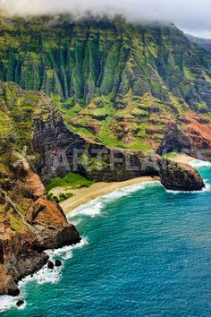 With so many incredible coasts to choose from, we don't know where to start! Na Pali Coast , Kauai, Hawaii.