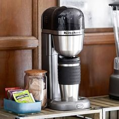 KitchenAid(R) Personal Coffee Maker Dorm Fridge, 1st Apartment, Pottery Barn Teen, Pbteen, Food Containers, Little Houses, Drip Coffee Maker, Classroom Decor, Food Storage