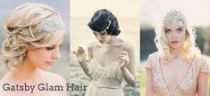 Hair Inspiration: Gatsby Glam | SouthBound Bride