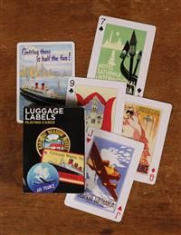 Golden Age Of Travel Playing Cards