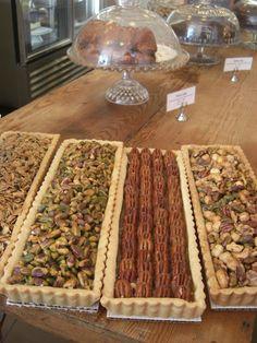 Tatte Cafe nut tarts