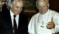 The fall of Communism and the key role that  Karol Wojtyla -- Pope John Paul II-- played.