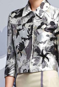 patternprints journal: PATTERNS AND PRINTS FROM PRE-SUMMER 2015 WOMAN FASHION COLLECTIONS / Thom Browne