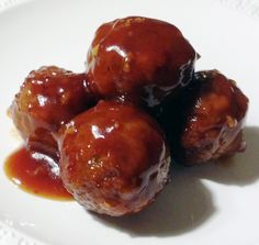 Crockpot Honey Garlic Meatballs recipe