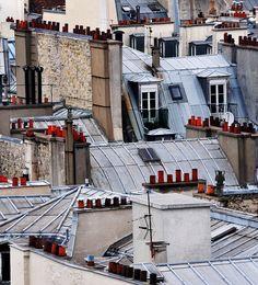 Paris Rooftops by chlook, via Flickr