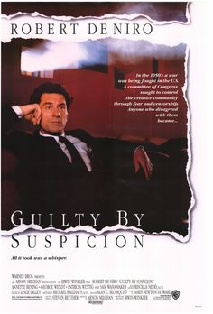 robert de niro movie posters | Guilty by Suspicion Movie Poster 1991 Robert de Niro | eBay