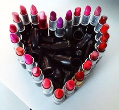 MAC Lipstick Collection #mac #lipsticks #matte #satin #twig #taupe #velvet #teddy