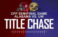 Alabama vs Washington in Atlanta Georgia 12 31 2016