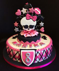 Stupendous 35 Best Monster Cake Doll And C S Images Monster High Cakes Funny Birthday Cards Online Alyptdamsfinfo